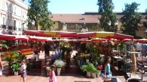 Place d'Armes market, Monaco