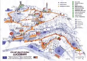 The map provided by the local tourist board, making it very easy for visitors to find their way around