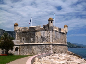 The original Jean Cocteau Museum in the 18th century fortress built to protect the harbour