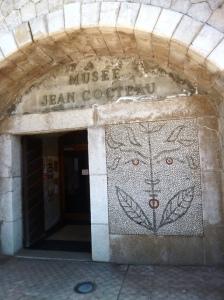 Cocteau museum entrance (C) K. Hin
