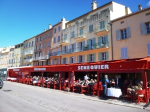 Le Sénéquier - a great place for a memorable drink on the port, also memorable for your wallet though!