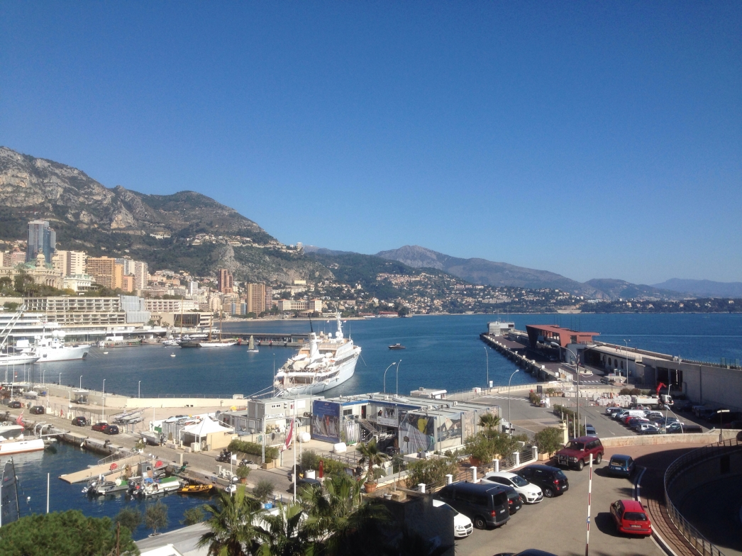 Monaco harbour on a Saturday morning, March 2014
