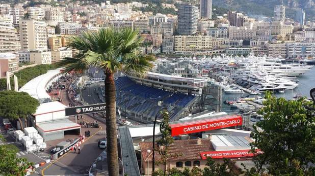 A perfect illustration of how the Grand Prix transforms Monaco! (C) K. Hin