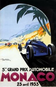 Poster for the 1933 Grand Prix