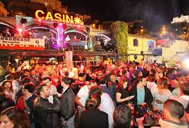 F1 party at La Rascasse