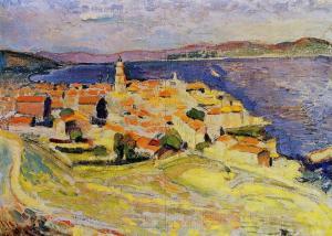 Vue sur Saint-Tropez by Matisse
