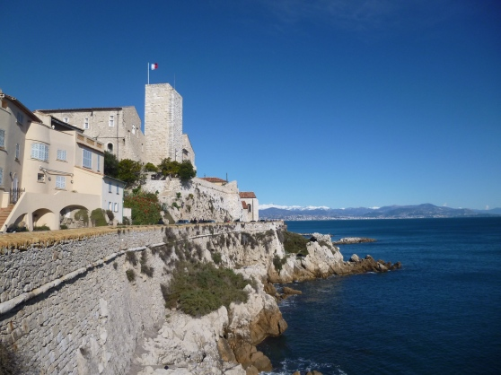 The Old Town of Antibes with the Picasso Museum