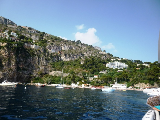 More off the beaten track - Plage Mala in Cap d'Ail, best reached by private boat!