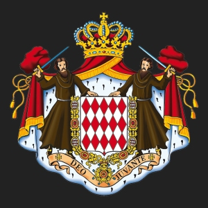 Monaco's coat of arms (C) Palais Princier de Monaco
