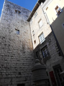 Porte du Peyra, the main access gate to the old town of Vence