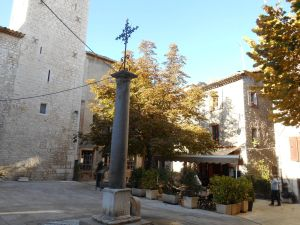 OPlace Godeau, one of Vence's beautiful squares