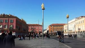 Place Massena, the heart of Nice