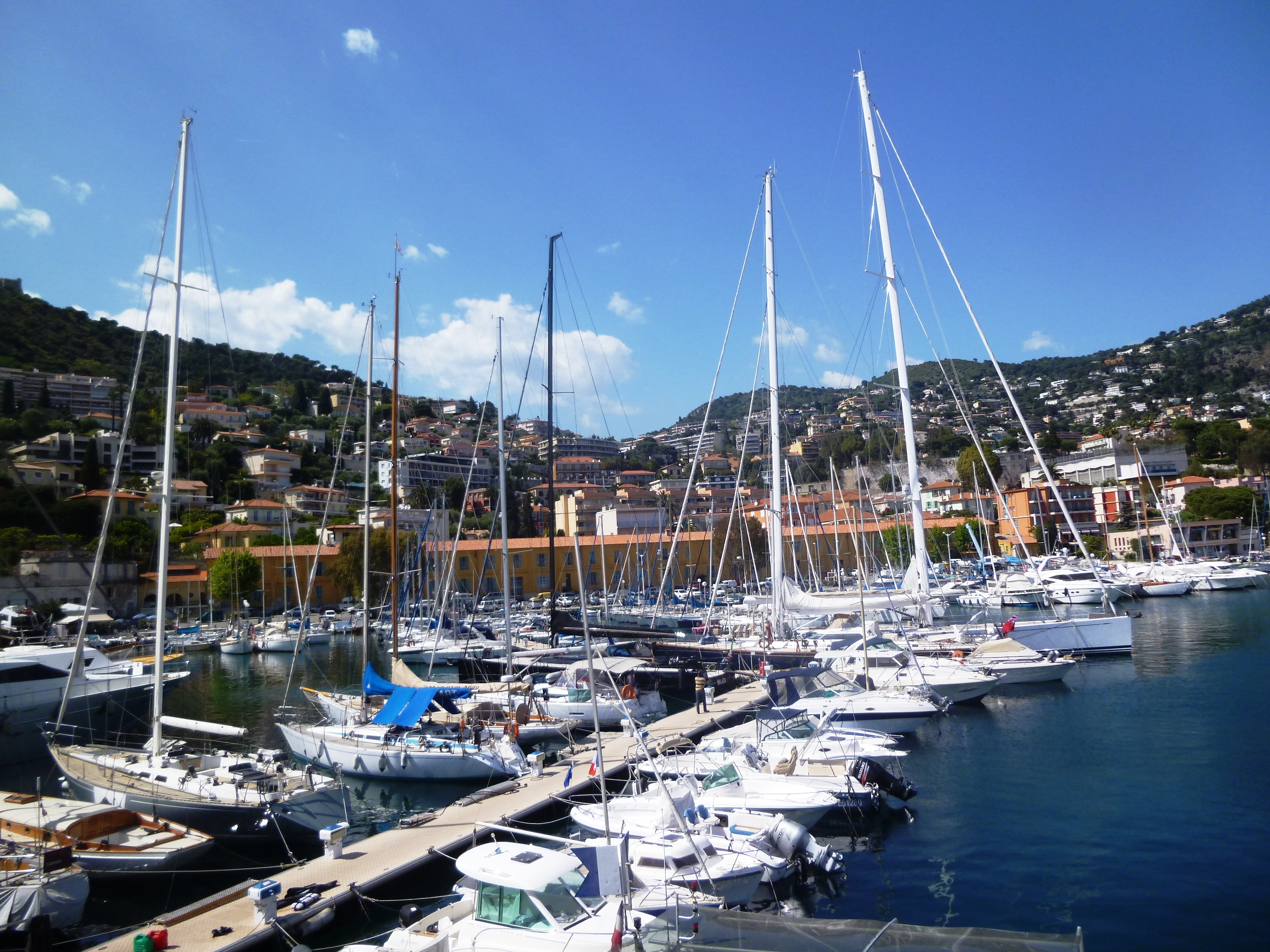 Villefranche sur mer and its beautiful harbour in a one - Port de la darse villefranche sur mer ...