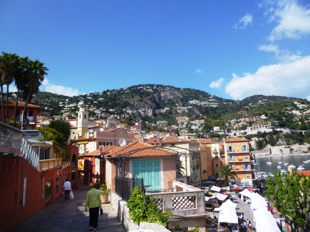 The medieval heart of Villefranche